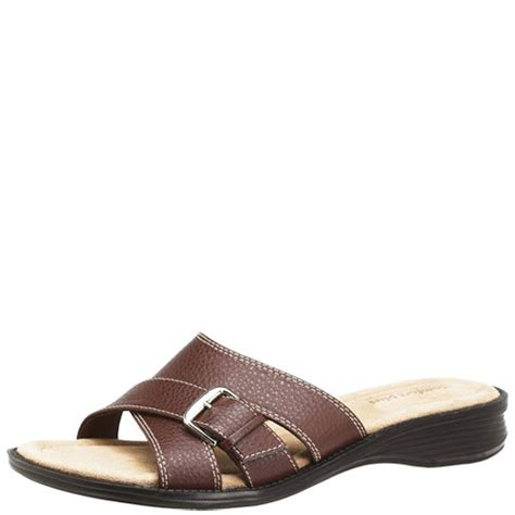 comfort plus by predictions womens comfort plus by predictions perry slide sandal if