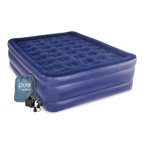 comfort size raised air mattress 8501ab the home depot