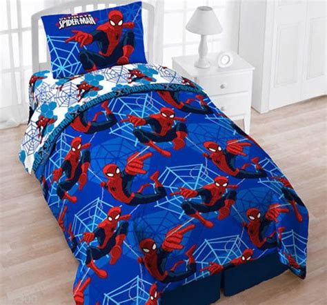 spiderman twin bed set spiderman twin 4pc bedding reversible comforter sheet
