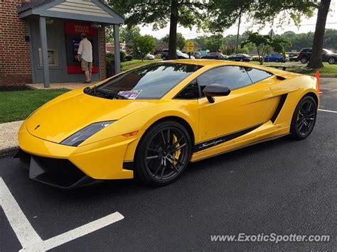 Lamborghini In Virginia Lamborghini Gallardo Spotted In Great Falls Virginia On
