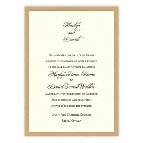 wedding invitations american 2 layer wedding invitations