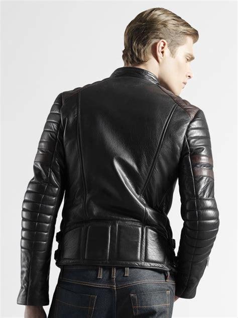 mens leather biker jacket leather biker jackets for shopping guide studded