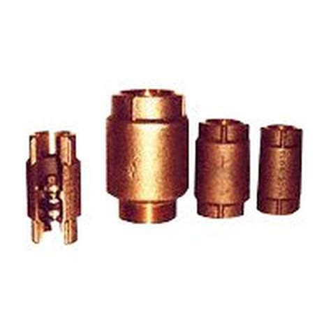 Simmons Plumbing Supply by Simmons Sb Check Valve 1 In Fpt 400 Psi Silicon Bronze Cast