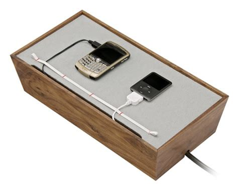 charging station box keep your home clutter free with the juice box charger