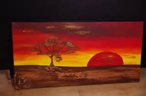 tableaux d 233 coratifs africain moderne acrylique et