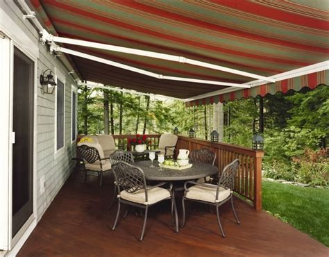 permanent deck awnings ideas indoor and outdoor design