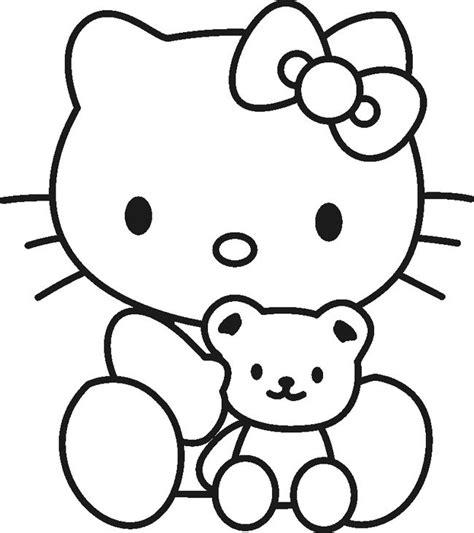 imagenes de kitty para imprimir a color dibujos para colorear de hello kitty