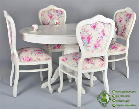 Walldecor Shabbychic Murah Berkualitas meja makan minimalis desain dan model terbaru home decor furniture