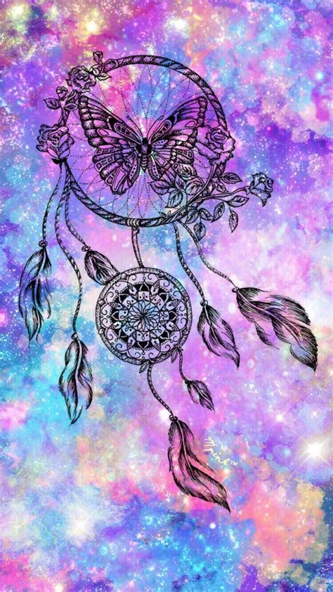 colorful dreamcatcher wallpaper butterfly dreamcatcher wallpaper my wallpaper creations
