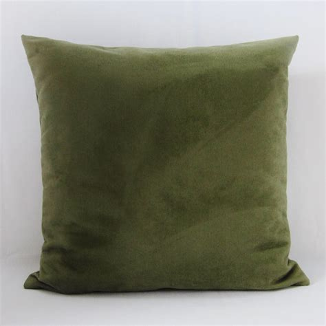 throw pillows for olive green olive green suede pillow cover decorative throw accent