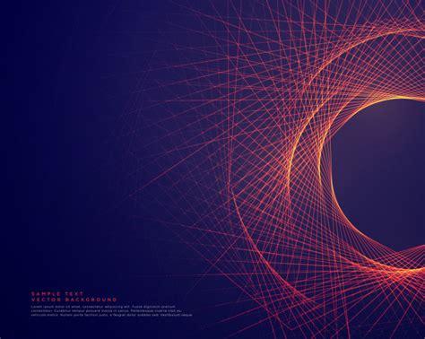 imagenes vectores abstractas l 237 neas abstractas formando fondo de forma de tunner