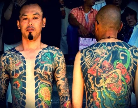 Tattoo Japanese Mafia | facts about tattoos interesting and curious facts