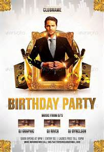 birthday party flyer template http www ffflyer com