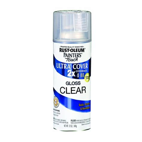 spray paint clear gloss rust oleum 249117 painter s touch multi purpose spray