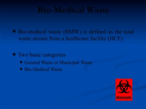 Biomedical Waste Management Ppt Download Free Premium Waste Management Powerpoint Template