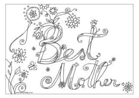 hard coloring pages for mother s day mother s day colouring pages