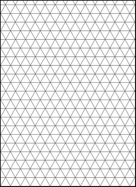 triangle pattern highlights line of symmetry grid an isometric grid a grid or