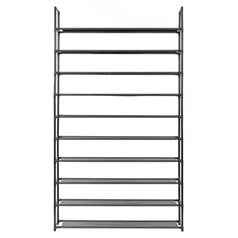 Sho Metal Mini honey can do 4 tier 18 pair wood and metal accessory rack