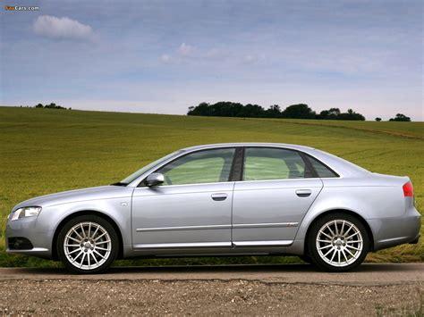 Images of Audi A4 2.0T S Line Sedan UK spec B7,8E (2004?2007) (1280x960)