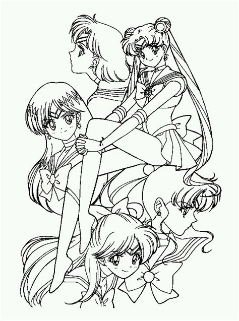 sailor senshi sailor mercury sailor moon sailor mars