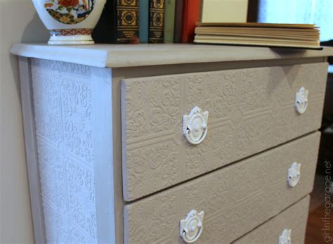 update a dresser how to update a dresser with paintable wallpaper in
