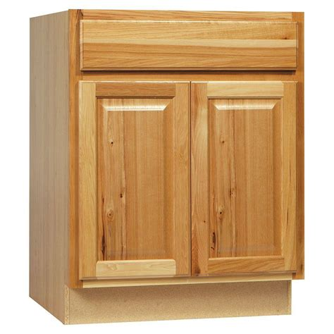 home depot hickory cabinets hton bay 36x34 5x24 in hton sink base cabinet in