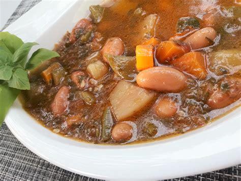 minute cuisine soupe au pistou au micro minute la recette facile par