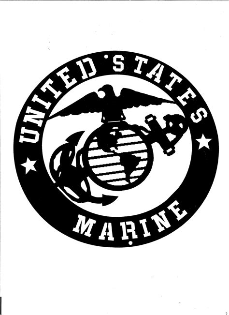 emblem black and white the gallery for gt usmc black and white