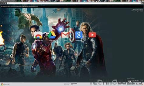 chrome theme avengers 10 popular themes for google chrome browser
