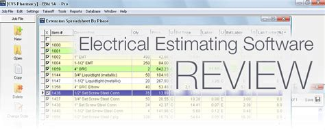 software review dennis reviews electrical bid manager
