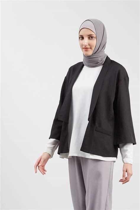 Verylin Cardigan Vest Blazer Kimono Outer Murah Baju Wanita sell vitera outer black outerwear hijabenka