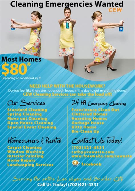 house cleaning las vegas angels ad
