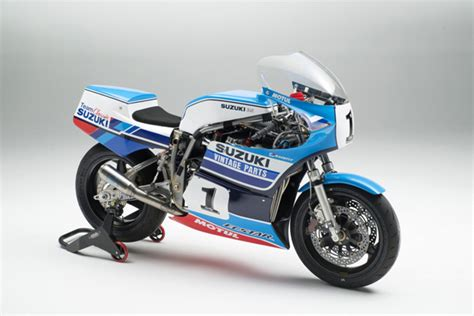 Vintage Suzuki Team Classic Suzuki Confirms Deal With Vintage Parts