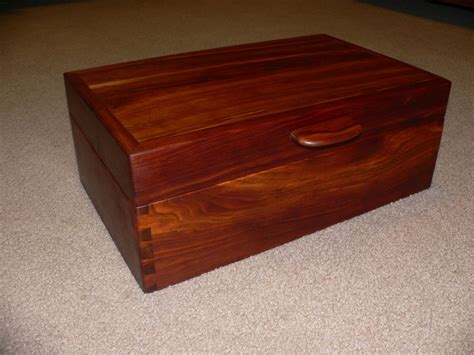 Handmade Jewelry Box Plans - cherry wood jewelry box woodworking projects plans