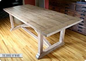 Dining Room Table Building Plans How To Build A Dining Room Table Plans Plans Free