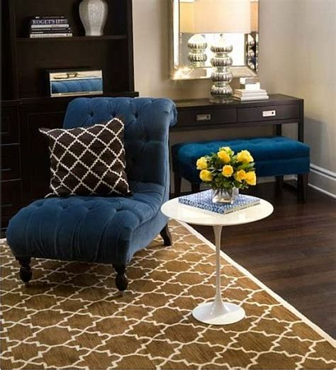 Blue And Brown Decor by What Colors Work Well With Brown In The Bedroom