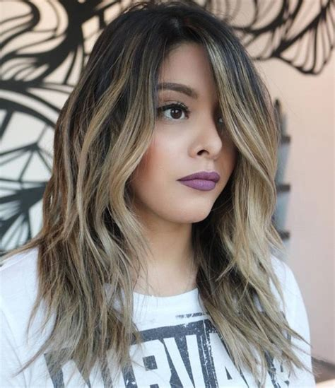 hairstyles long brunette layers 80 cute layered hairstyles and cuts for long hair in 2016