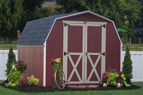wooden storage shed  pa traditional garage