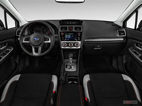 subaru crosstrek 2017 interior 2017 subaru crosstrek interior u s news world report