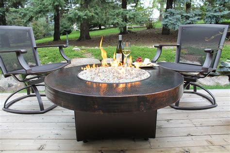 Cast Aluminum Patio Furniture Sets Fire Pit Dining Table Image Of Bar Height Fire Pit Table