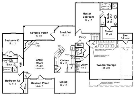 ranch style floor plans with basement ranch style homes the ranch house plan makes a big comeback