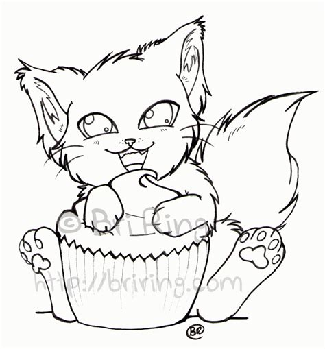 if you give a cat a cupcake coloring page coloring home