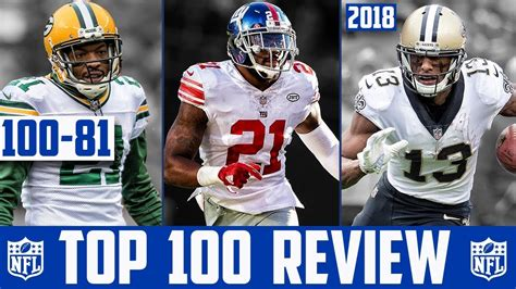 players 100 reviews nfl top 100 players of 2018 reaction 100 81 nfl top 100