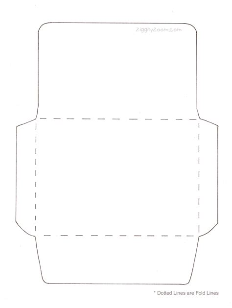 free printable money envelope templates