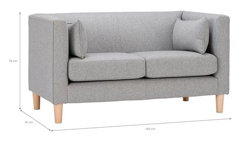 Compact Sofa by George Home Eugene Compact Sofa In Soft Linear Home