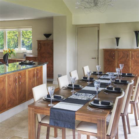 walnut kitchen and dining room extension kitchen walnut dining room dining rooms dining room ideas