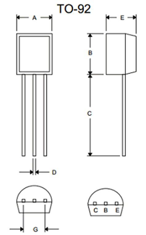 transistor bc548 pinout transistor bc548 pinout 28 images fritzing project proximity sensor with ultrasonic bc548