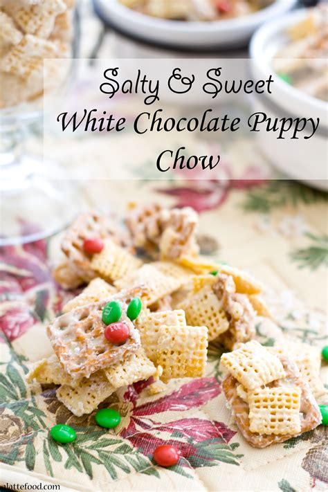 white chocolate puppy chow white chocolate puppy chow recipe