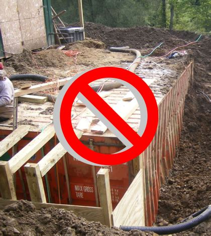 Can You Bury Your In Your Backyard by Can You Bury A Shipping Container For A Shelter Or Bunker Wisely Green