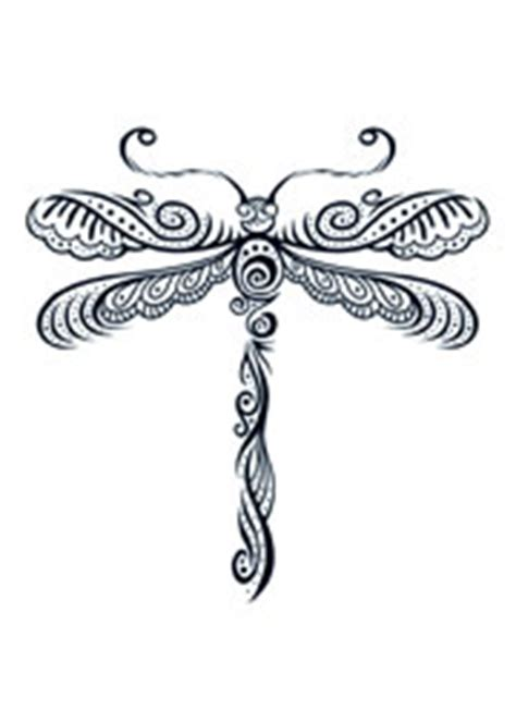 henna dragonfly tattooforaweek temporary tattoo largest